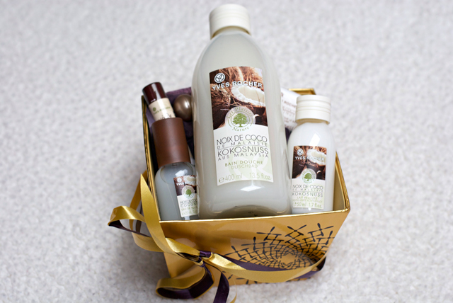 yves rocher coconut gift set