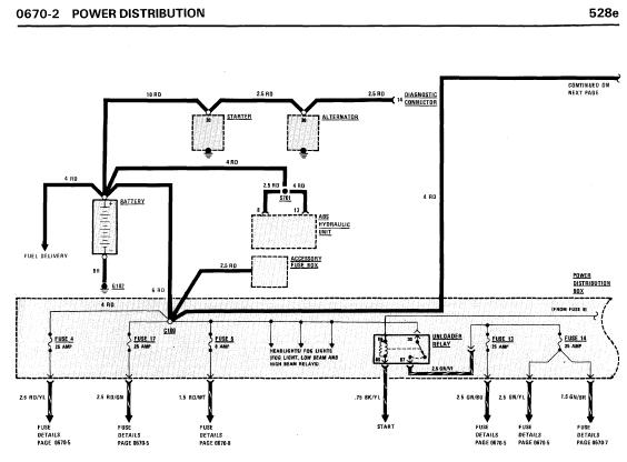 repair manuals bmw 528e 535i 1986 electrical repair rh repair manuals blogspot com Electrical Wiring Diagrams for Cars House Electrical Wiring Diagrams