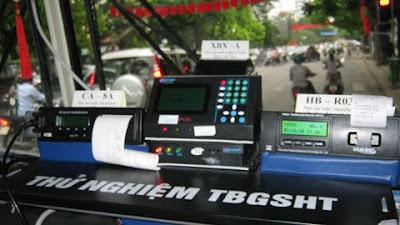 Thiết bị giám sát hành trình cho người tham gia giao thông