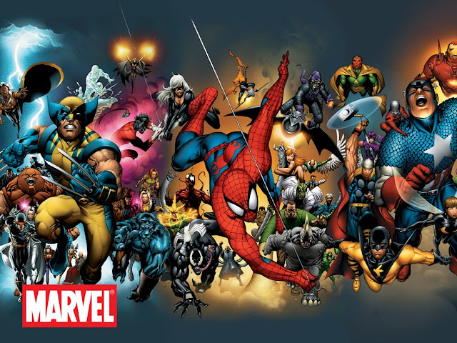 Marvel Cinematic Universe Comics Avengers X-Men Spider-man