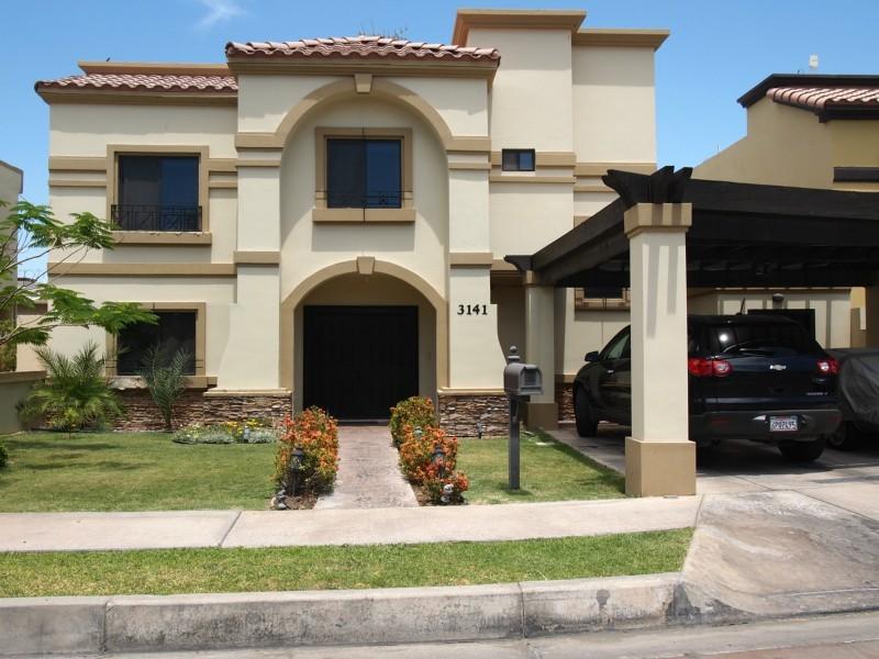 Fachadas mexicanas y estilo mexicano hermosa residencia for Planos de casas modernas mexicanas