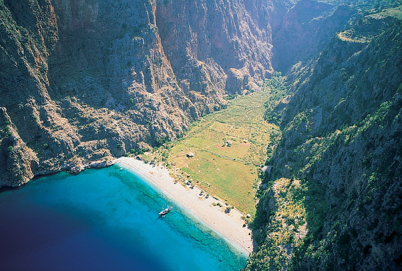 The Most Beautiful Places On Earth Butterfly Valley Turkey Asia
