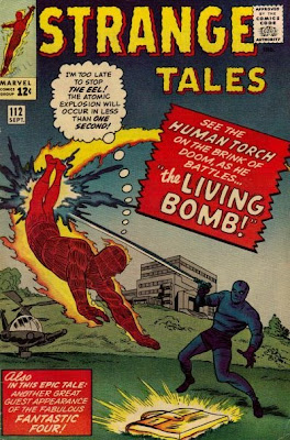 Strange Tales #112, the Human Torch