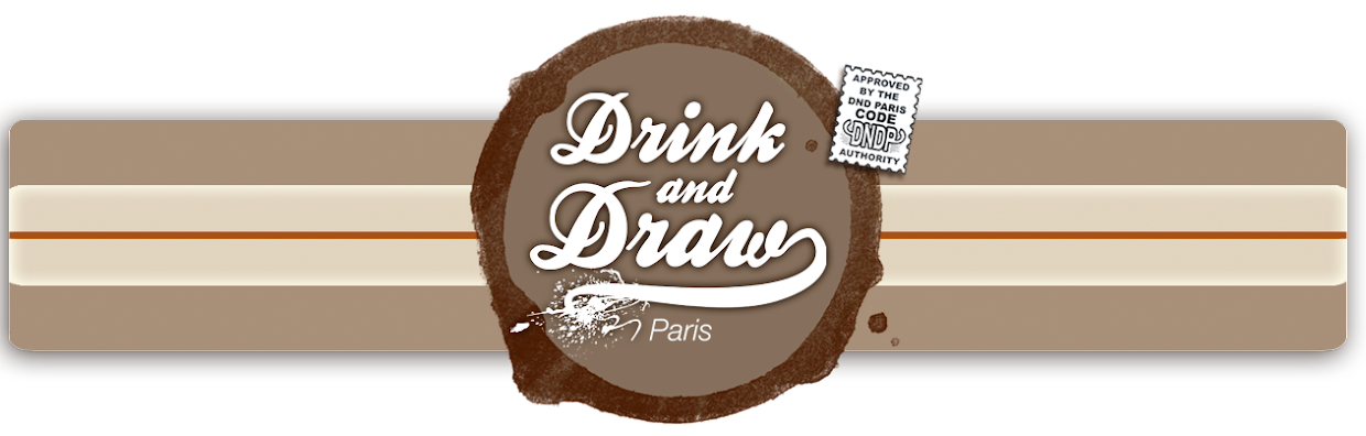 Drink&#39;N&#39;Draw PARIS