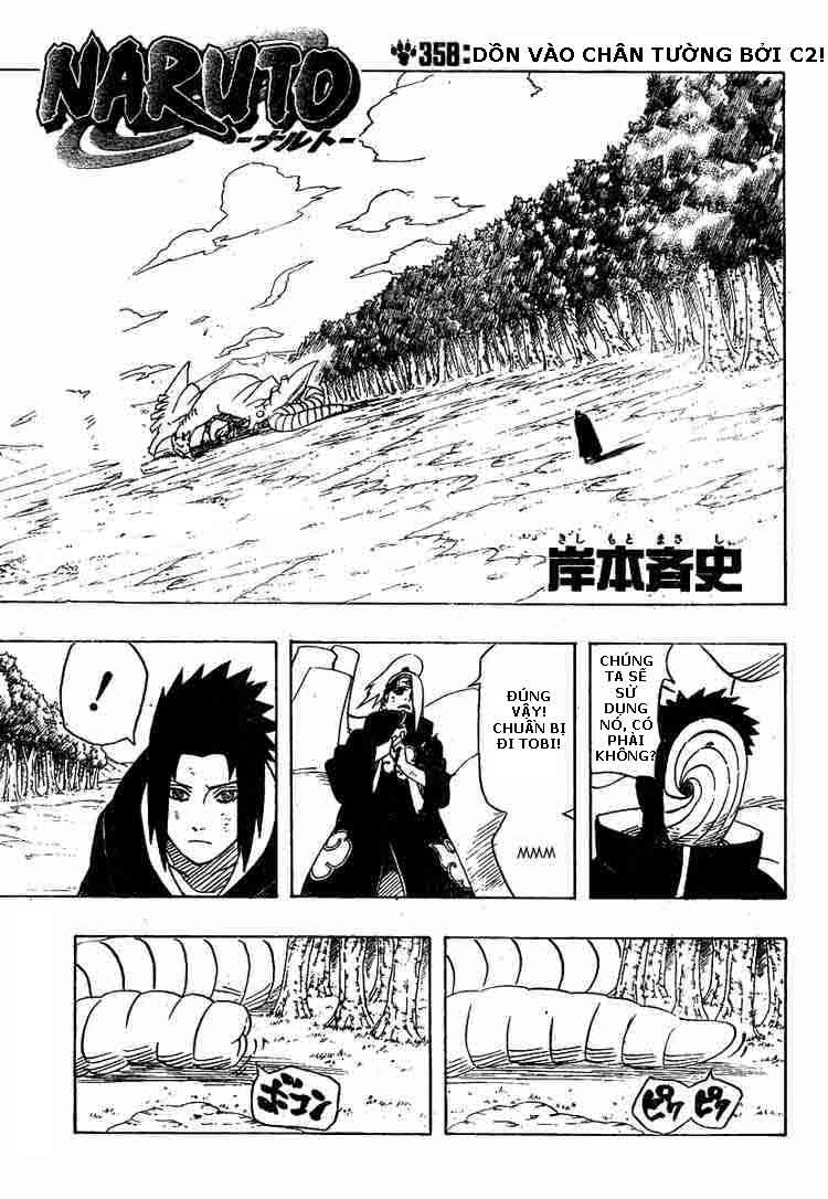 Naruto - Chapter 358 - Pic 1
