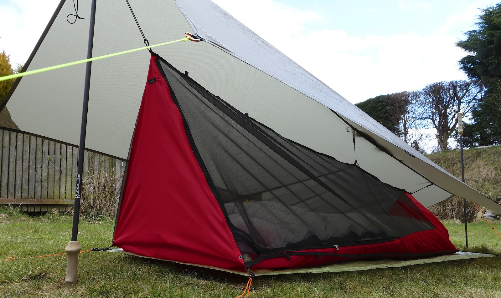Large and bug-proof : diy bivy tent - memphite.com