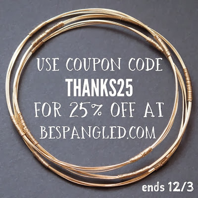 Cyber monday sale at Bespangled Jewelry