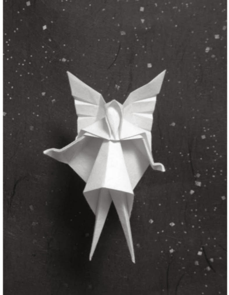 Christmas tree fairy origami paper origami guide fairy origami fairy realm of fays is often classified as mystical being the word originally are from european folklore fairies also are define as jeuxipadfo Choice Image
