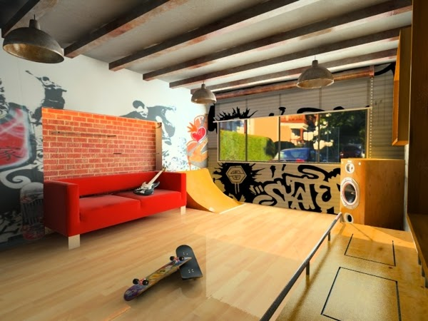 Skate Home Skater Room Idea For A Play Area For