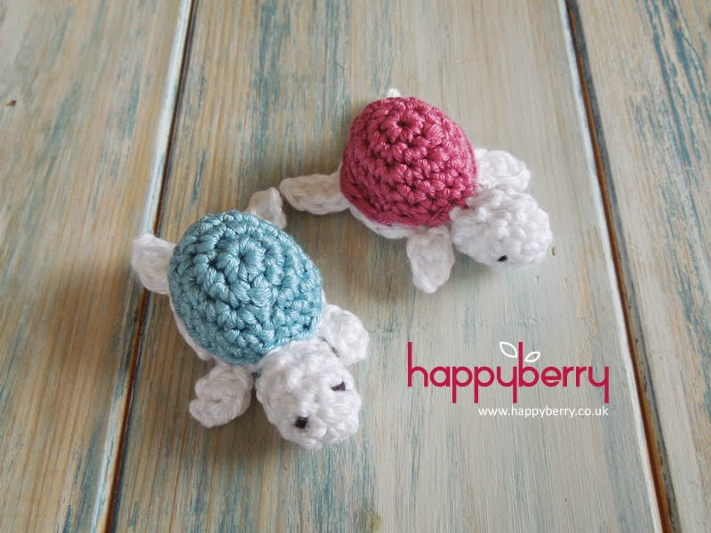 Crochet Patterns Baby Turtle : Happy Berry Crochet: How To Crochet a Baby Turtle - Yarn ...