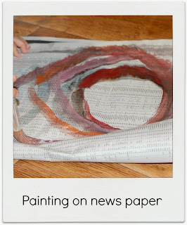 http://littlepeopledesign.blogspot.com.au/2013/10/painting-news-papers.html#.UpC4OOJQiLU