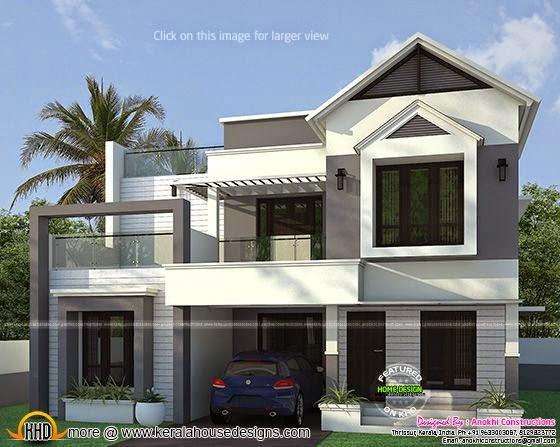 1840 square feet home exterior