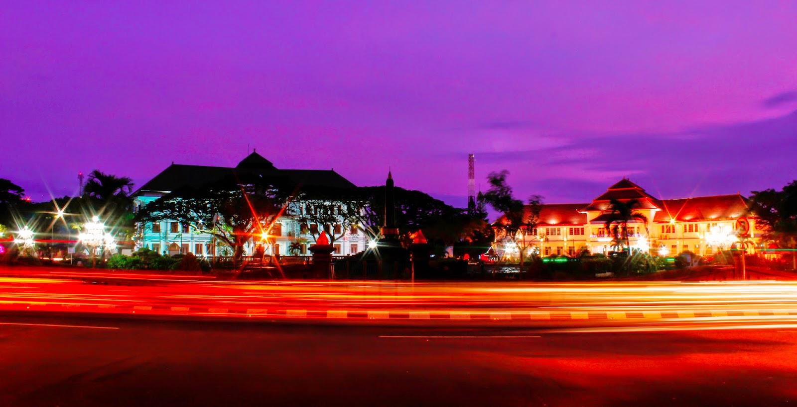 Balai Kota Malang Sore