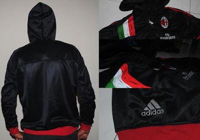 Jual Jaket AC Milan Training Hodie
