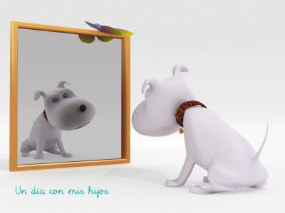 Un d a con mis hijos la casa de los mil espejos for Espejo que no invierte la imagen