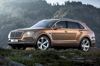 Bentley Bentayga (2016) Front Side