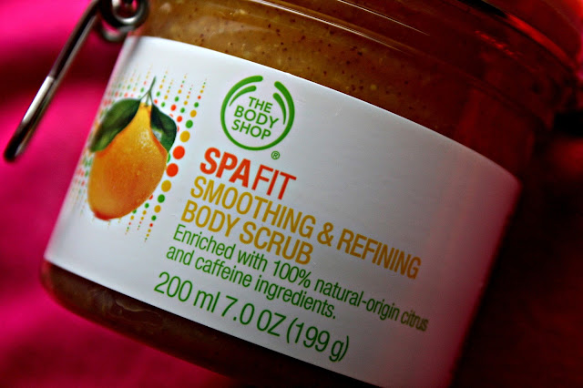 The Body Shop Spafit Smoothing & Refining Body Scrub Review
