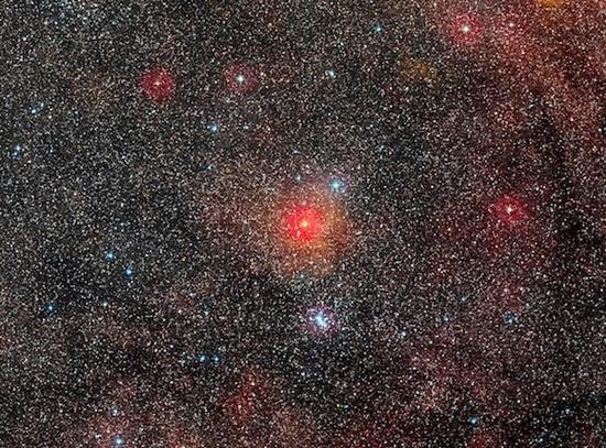 Bintang Maharaksasa Kuning Terbesar Sejagad Ditemukan