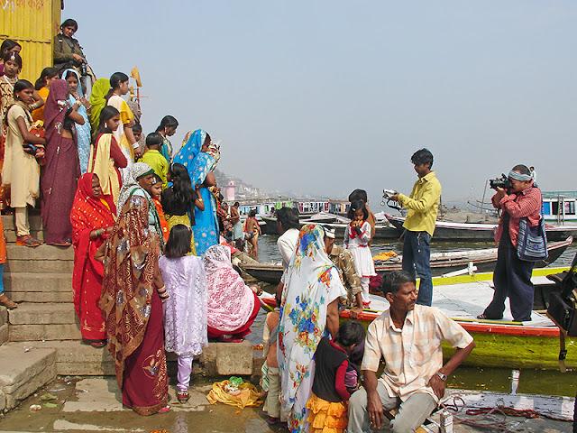 Un mariage indien sur les rives du Gange
