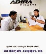 Lowongan Kerja PT Adira Finance
