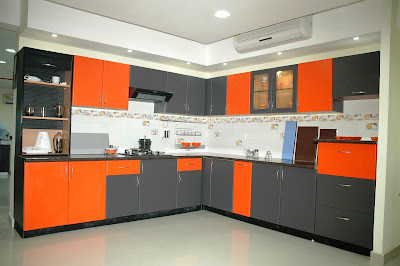 Modular kitchen images photos galleries and price for Kitchen farnichar photo