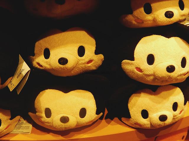 Giant Mickey Mouse tsum tsum