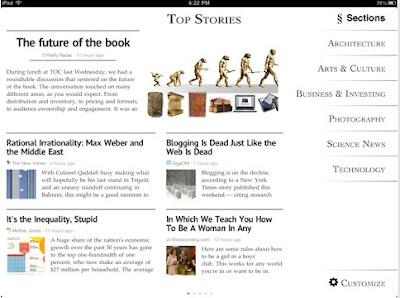 leer tus noticias en el iPad - zite