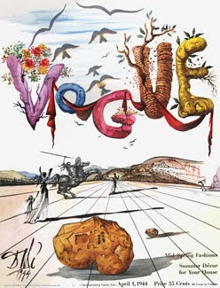 Vogue, 1944, Salvador Dali