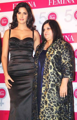 Katrina Kaif Unveils Femina 50 most beautiful Women Images