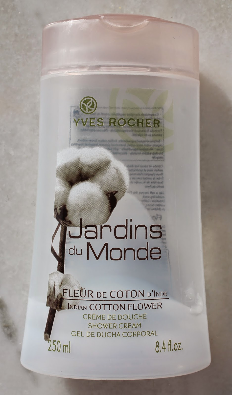 Fleur de coton Jardins du Monde Yves Rocher