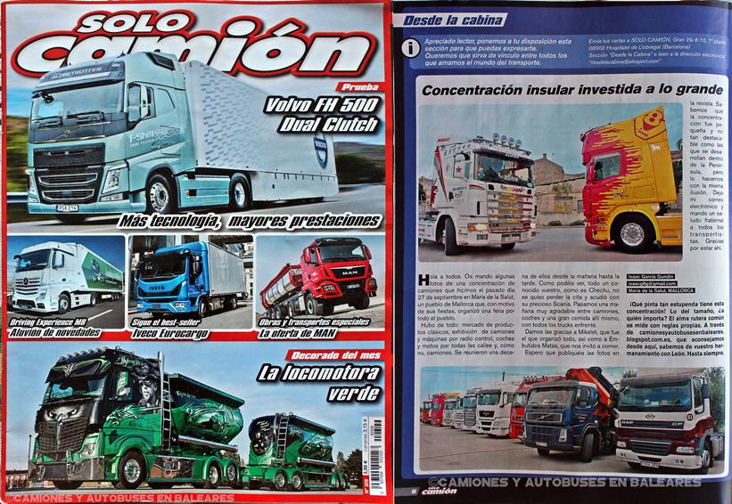 Concentración Camiones Fira de Maria 2015