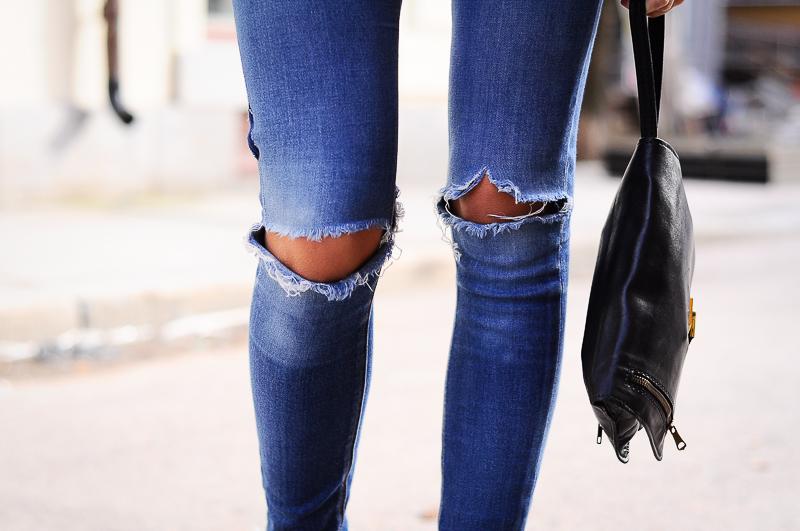 Как в домашних условиях порвать джинсы