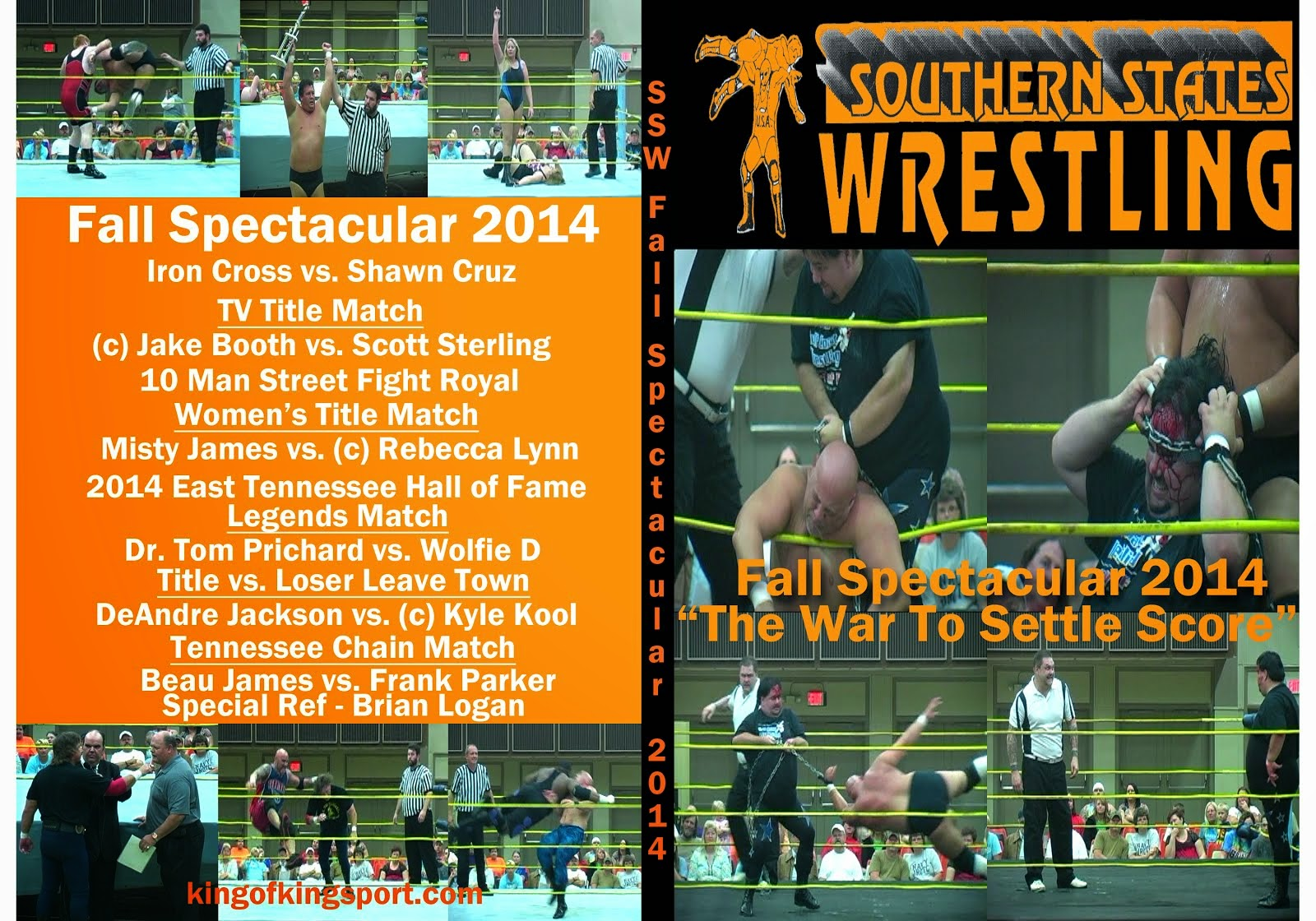 SSW Fall Spectacular 2014 DVD 12.00