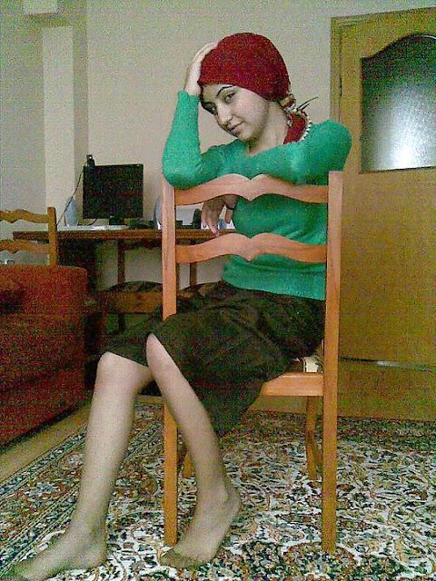 Türbanlı Türk ev kadınları sikişti orospu Türbanlı