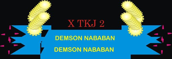 DEMSON NABABAN