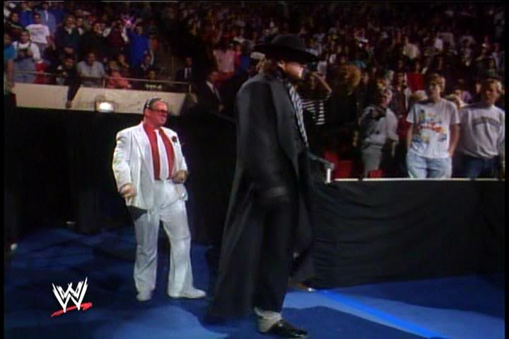 The Undertaker Make His Debut Survivor Series 1990Undertaker Wwf Debut