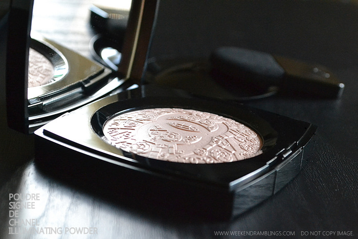 Poudre Signee De Chanel Illuminating Highlighter Powder Printemps Precieux Spring 2013 Makeup Collection Indian Beauty Blog Swatches Review Ingredients FOTD Looks