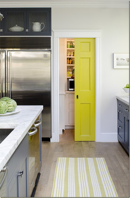 If Cabinets Are A Color What About Pantry Door Etc