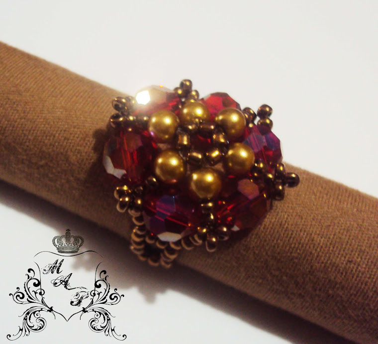 NEW!!! Barroque flower Ring