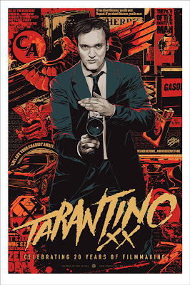 Tarantino XX Screen Print by Ken Taylor