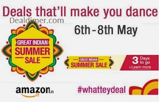 Amazon Grate Indian Summer Sale - Day 1 Deals