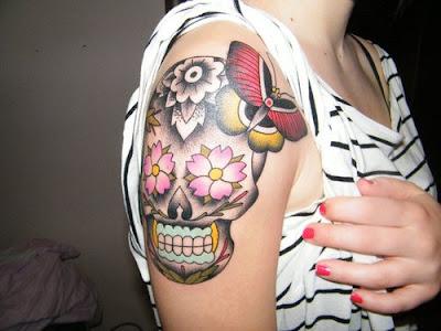 Fotos, dicas e desenhos de Tatuagens no Braço Femininas