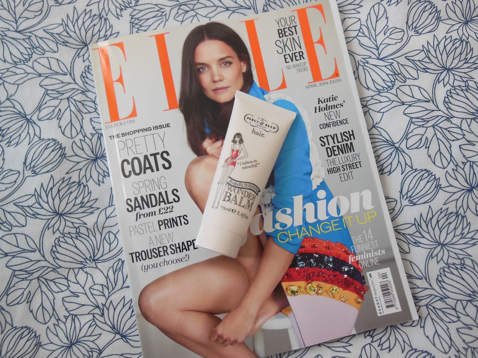 Elle Magazine and Percy and Reed Wonder Balm free gift