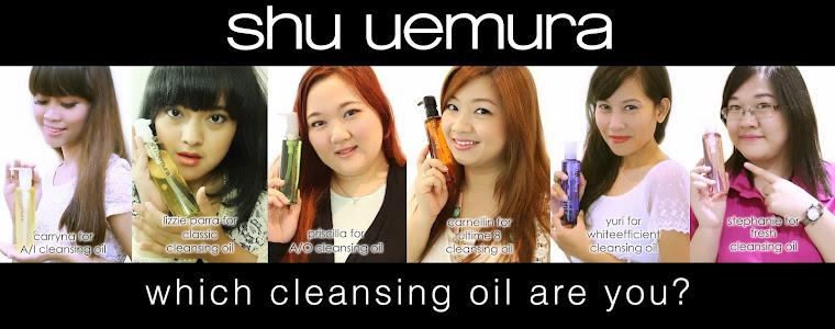 Find me at Shu Uemura