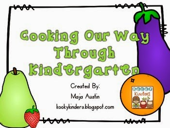 http://www.teacherspayteachers.com/Product/Cooking-Our-Way-Through-Kindergarten-1324399