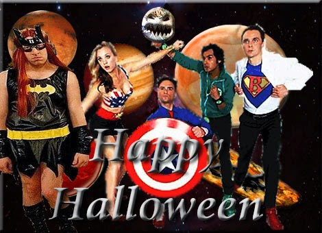 happy halloween the big bang theory