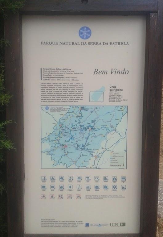 Parque natural serra da Estrela - Chãs da Ribeira