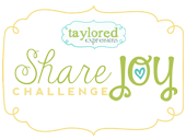 Share the Joy Challenge winner