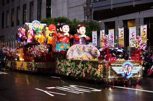 Beautiful Chinese New Year Flower Festival In San Francisco