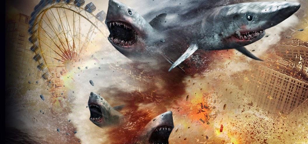 Assista ao teaser trailer do insano e ridículo Sharknado 2: The Secod One
